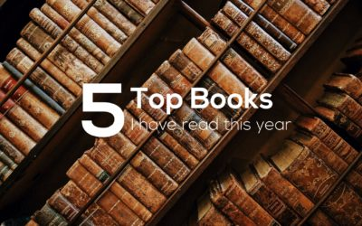 Top 5 Books I Have Read This Year (So Far)