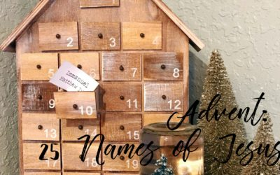 Advent Countdown – The 25 Names of Jesus